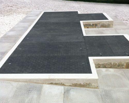 Fibrelite - Ammodernamento coperture calcestruzzo chiusini materiale composito